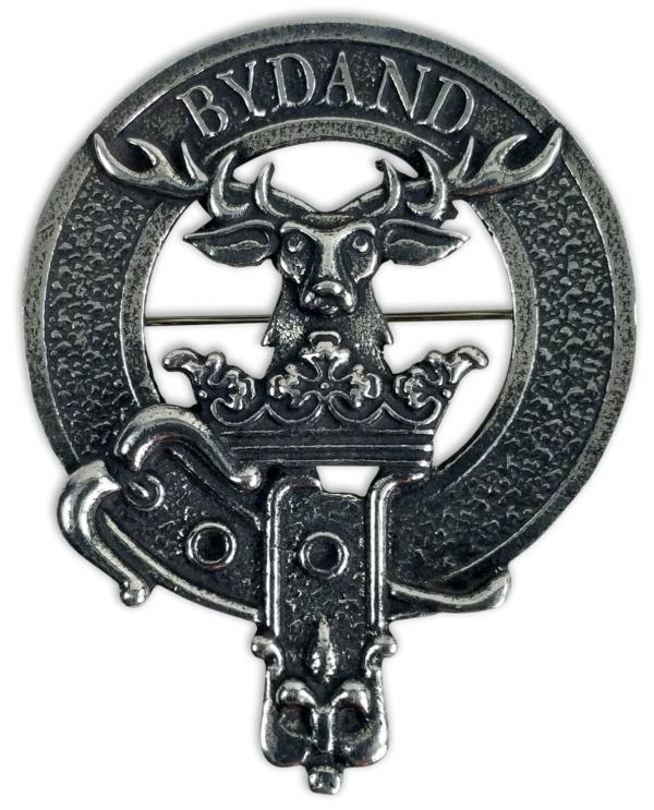 Gordon Clan Crest Cap Badge Brooch