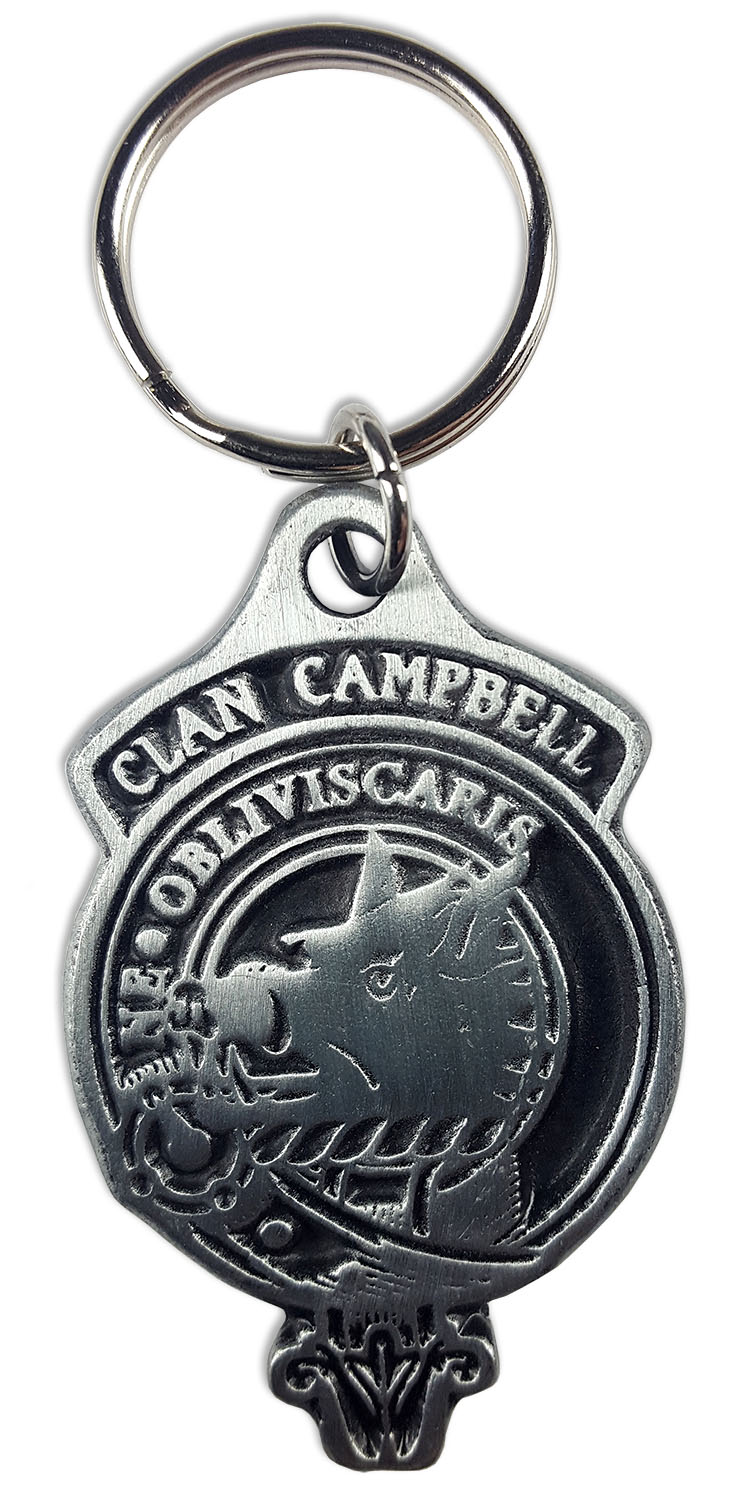 CAMPBELL Clan Crest Key Chain
