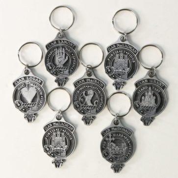 Clan Crest Key Chains