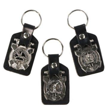Clan Crest Key Fobs