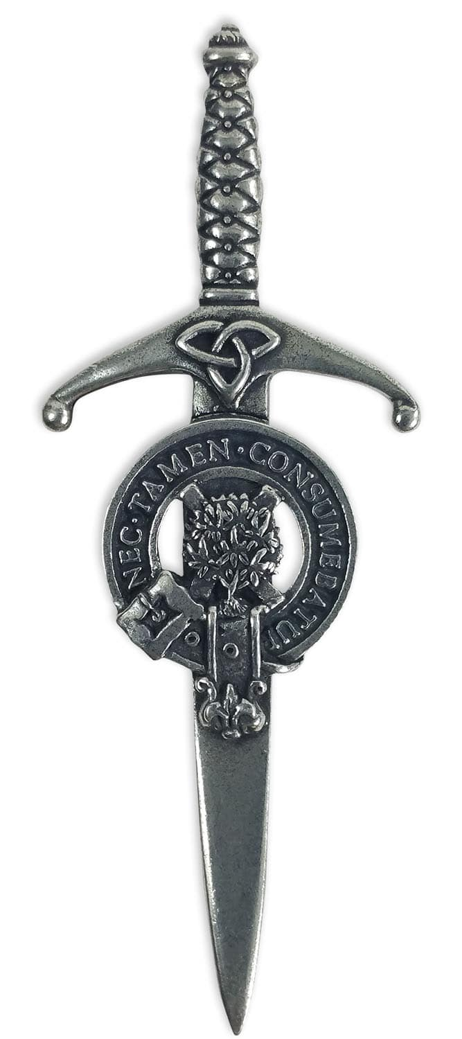 Clergy Clan Crest Kilt Pin