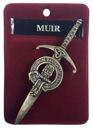 Muir Clan Crest Kilt Pin