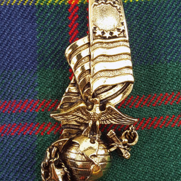 Marine Corps Kilt Pin