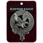 Scottish Eagle Cap Badge