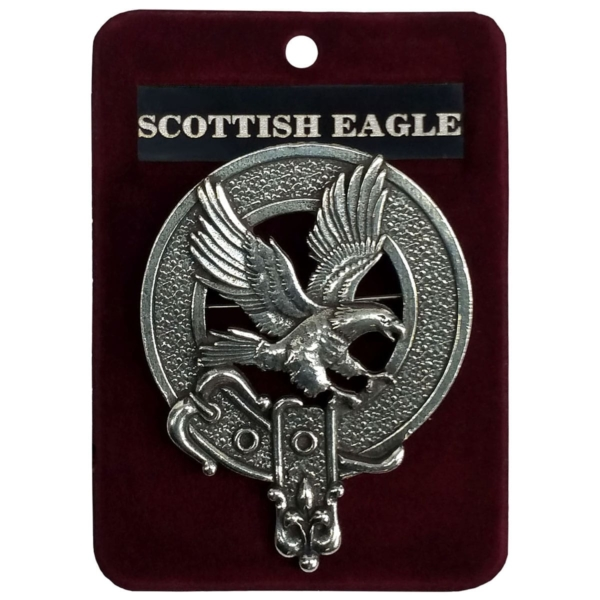 Scottish Eagle Cap Badge