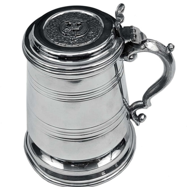 Scottish Clan Crest Tankard