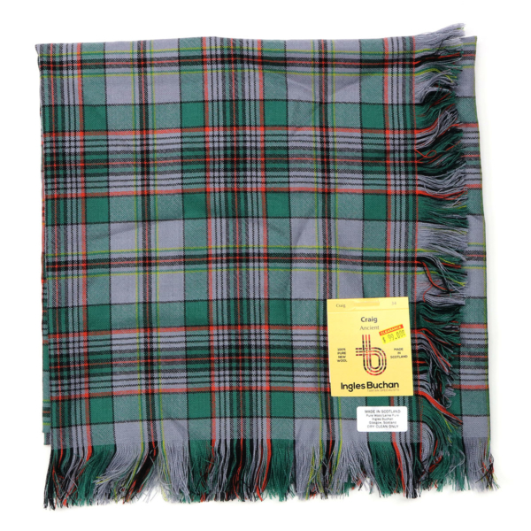 Craig Ancient Spring Weight Premium Wool Fly Plaid