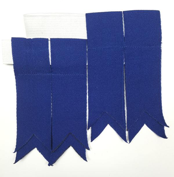 AHFG2-CL-1796 Standard Blue Grosgrain Flashes