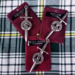 Irish Family Crest Kilt Pins
