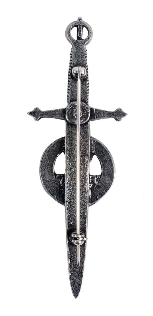 Irish Harp Kilt Pin