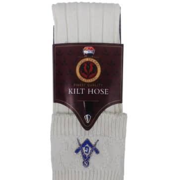 Masonic Kilt Hose