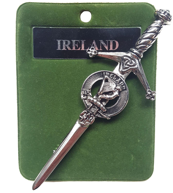 Art Pewter Ireland Kilt Pin
