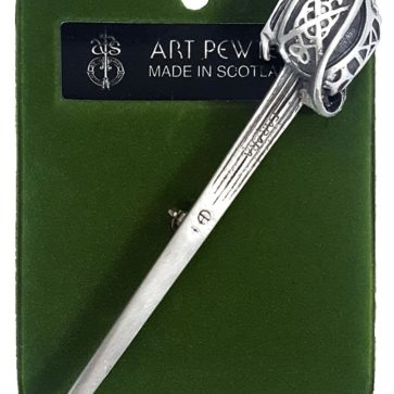 Basket Hilt Sword Kilt Pin