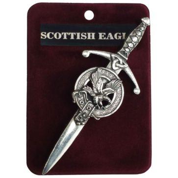 Scottish Eagle Kilt Pin