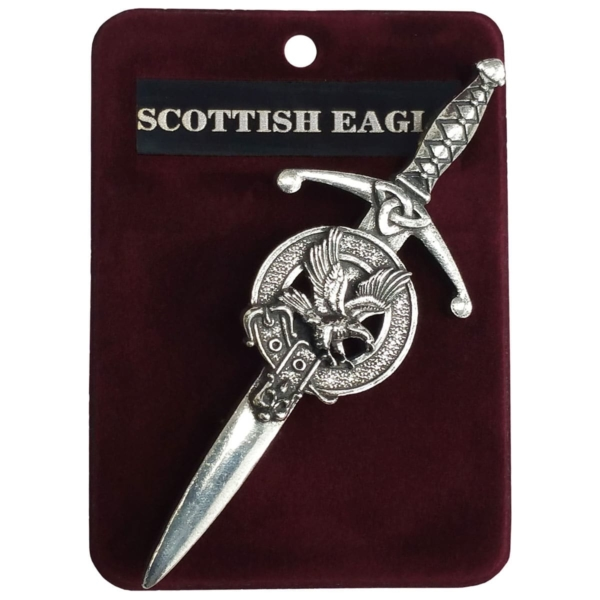 Scottish Eagle Kilt Pin