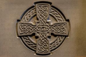 Celtic Embossed Stone