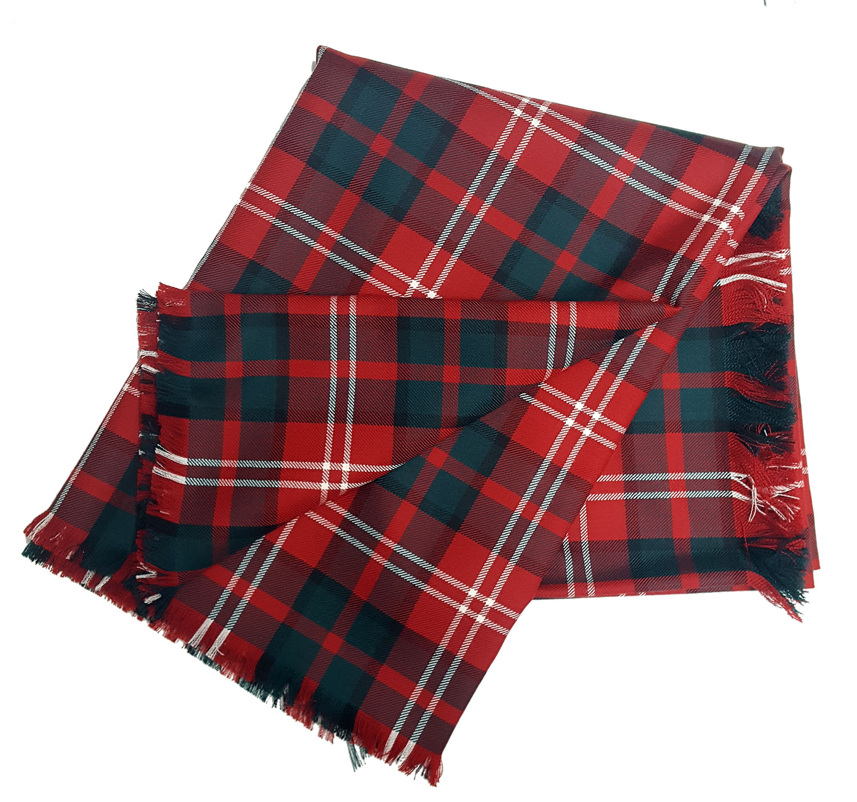 Nisbet Modern Tartan Blanket