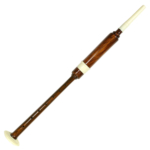BPEPC2 Rosewood Practice Chanter