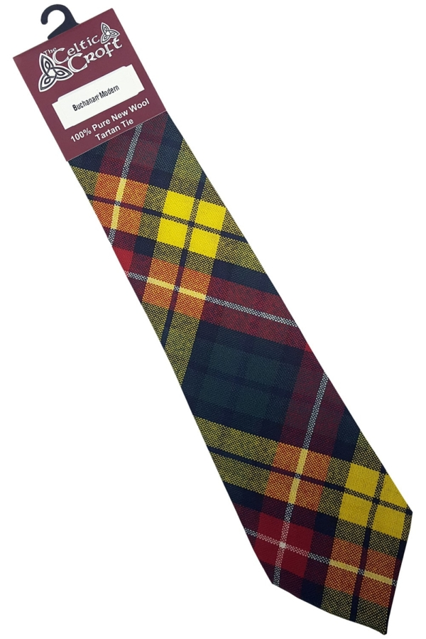 Buchanan Modern Tartan Tie