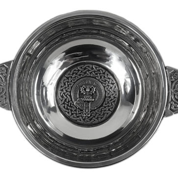 Ferguson Clan Crest Quaich