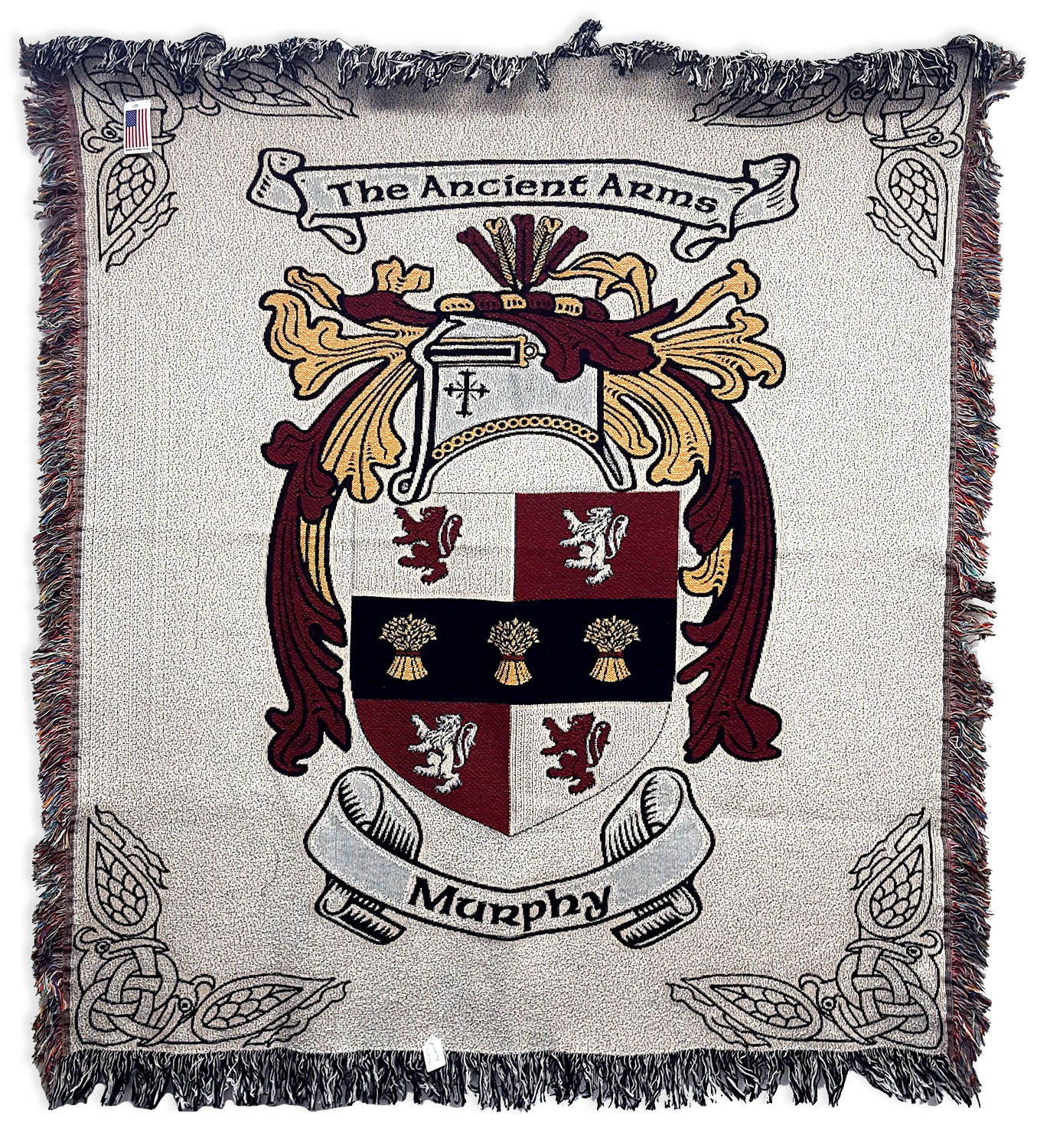COAB-CL-1802 Murphy Coat of Arms Blanket