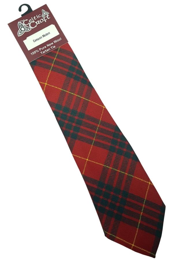Cameron Modern Tartan Tie