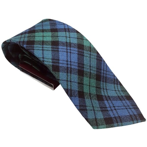 Campbell Ancient Tartan Tie