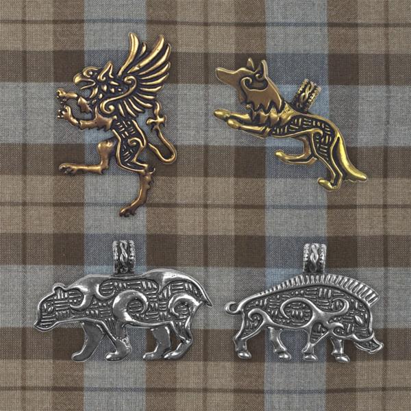 Celtic Animal Pendants