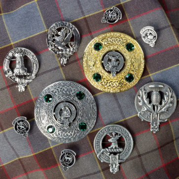 Clan Crest Badges and Brooches