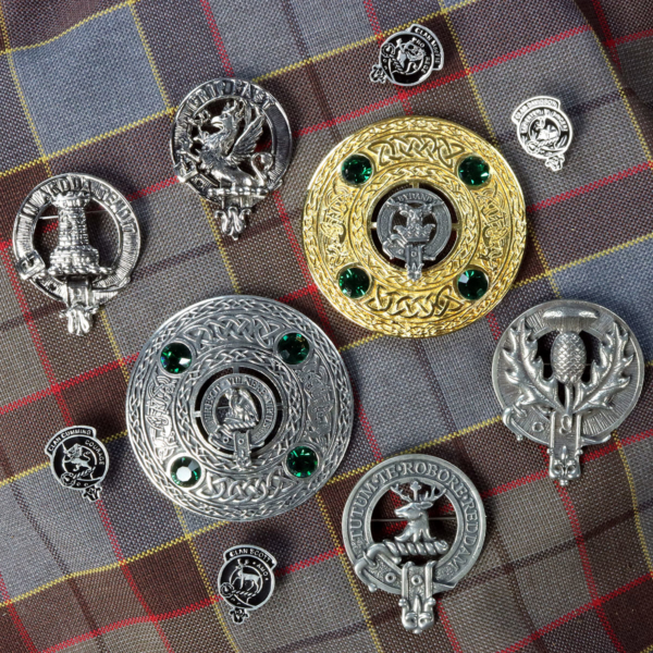 Clan Crest Pins & Brooches