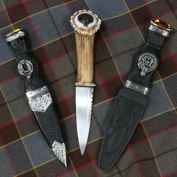 Clan Crest Sgian Dubhs
