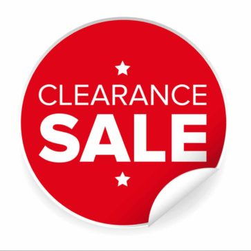 Clearance and Specials