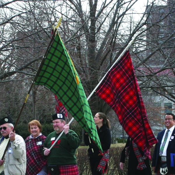 Tartan Flags