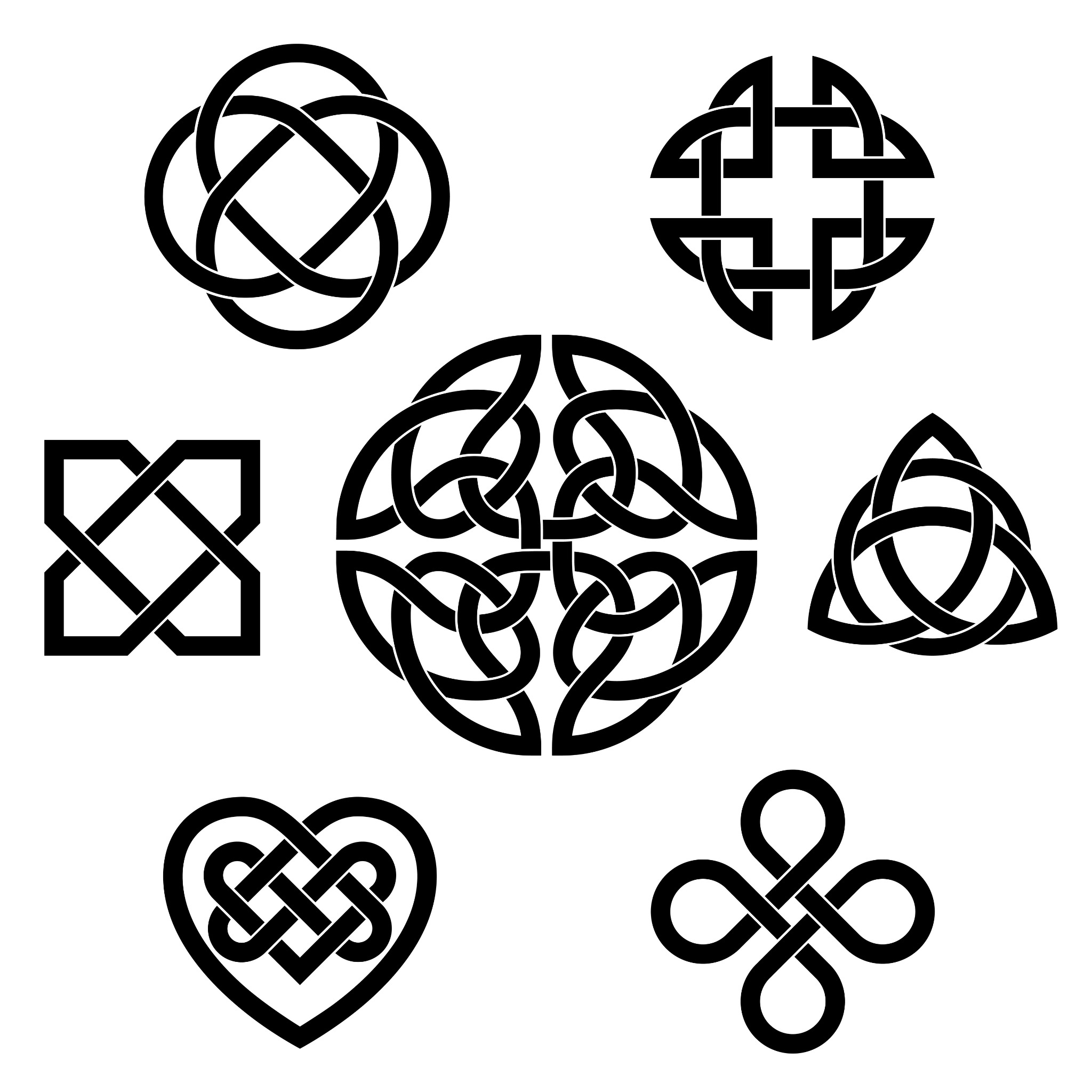 Different Celtic Knot variants