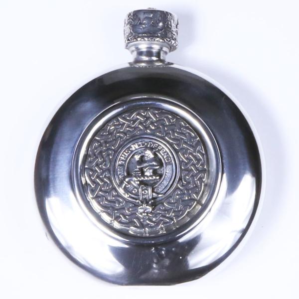 Clan Crest Flask MacFarlane