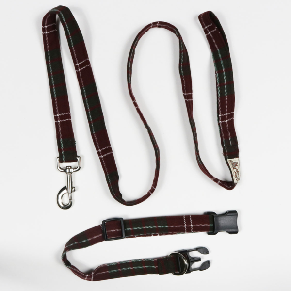 Crawford Dog Collar and Leash