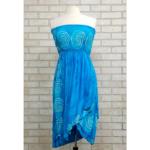 Celtic Knot Strapless Scalloped Sun Dress/Skirt