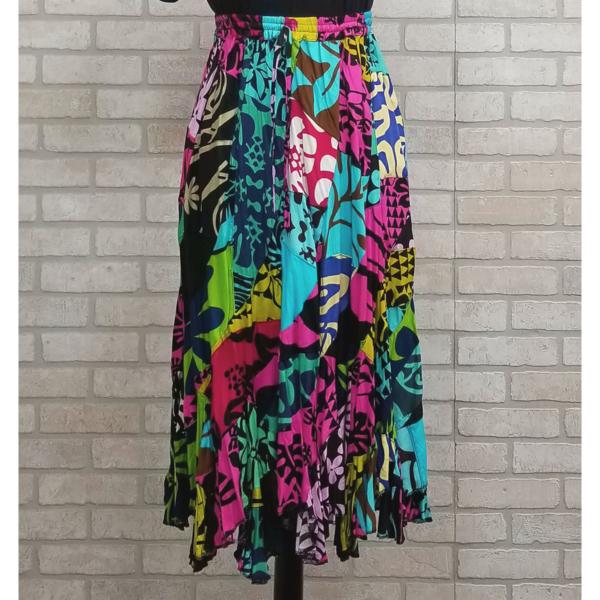 Patchwork Swirl Skirt 4
