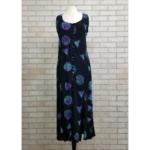 Celtic Knot Summer Dress - Black - Size Medium
