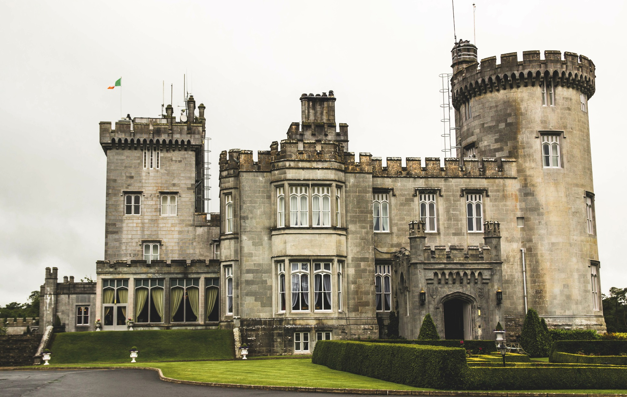 Dromoland Castle is a a hotel in Ireland.