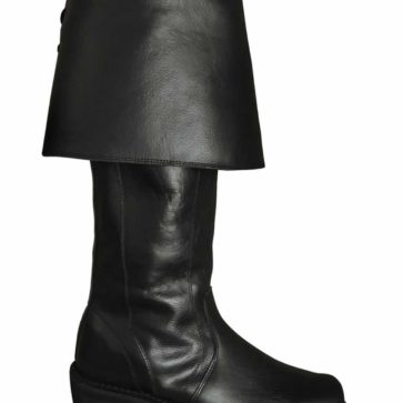 Black Scottish Pirate Boot