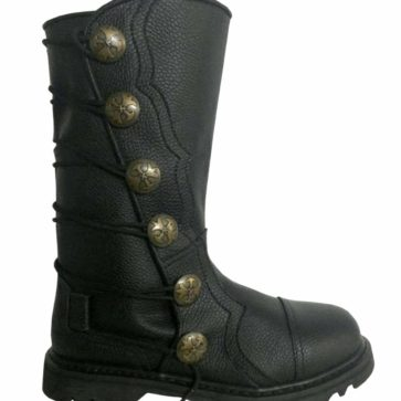 Premium Leather Half-Calf Boots - Black