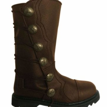 Premium Leather Half-Calf Boots - Brown