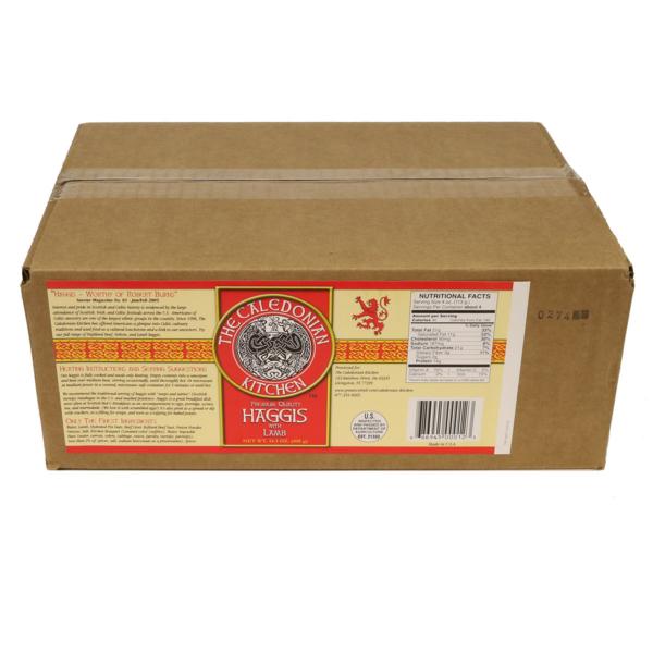 FHLT12 Traditional Lamb Haggis 12 Pack