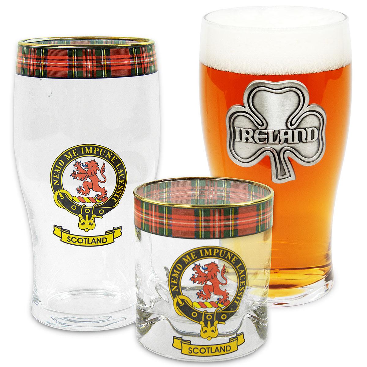 Clan Crest Glassware