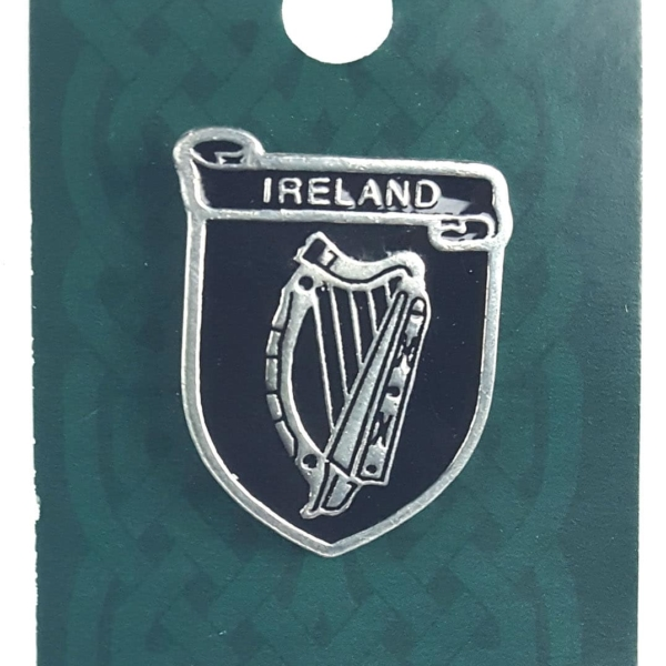 Irish Coat of Arms Mini Badge/Pin