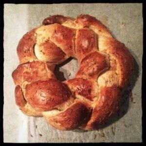 Festive Yule Bread
