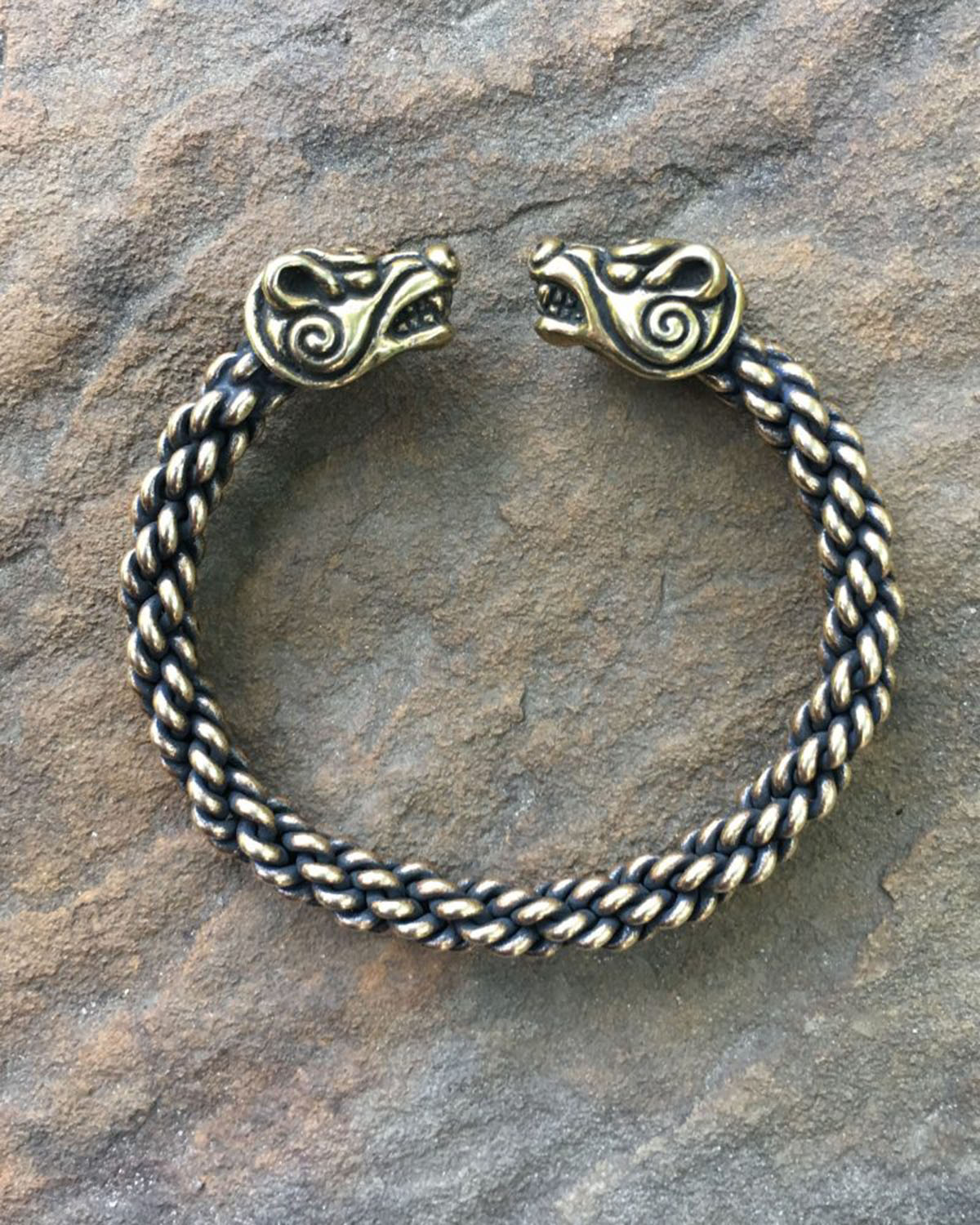 Bear Bracelet Medium Braid