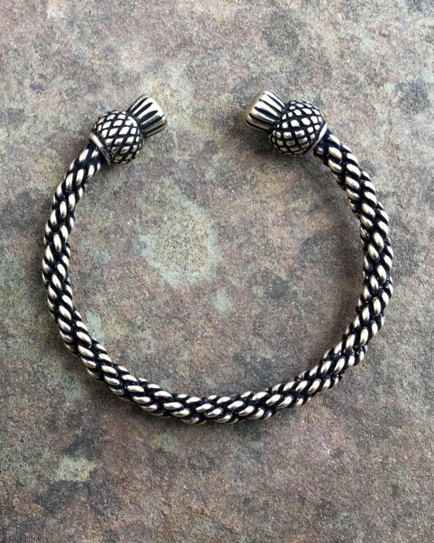 Thistle Bracelet Light Braid