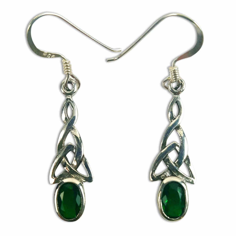 Triquetra Earrings